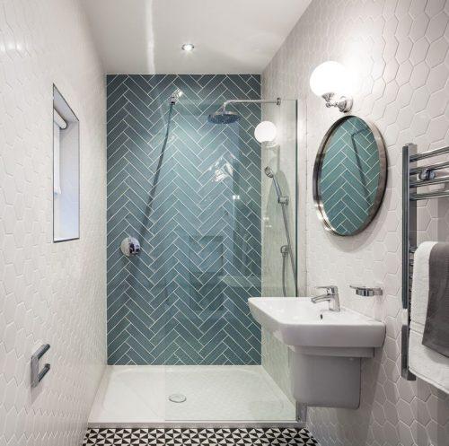 Badkamer tegels badkamertegels voorbeelden huis interieur car interior design - Badkamer tegel helderwit ...