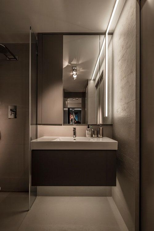 badkamers voorbeelden » wasmachine en droger in kleine badkamer, Badkamer