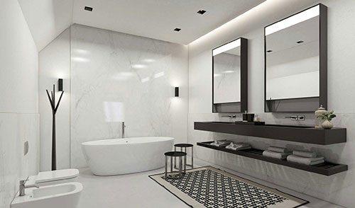 witte-badkamer-bruine-meubelen