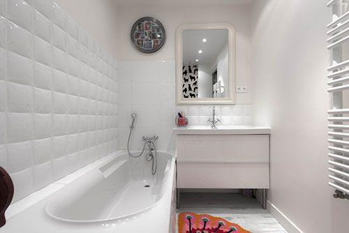 Witte badkamer door Tatiana Nicol