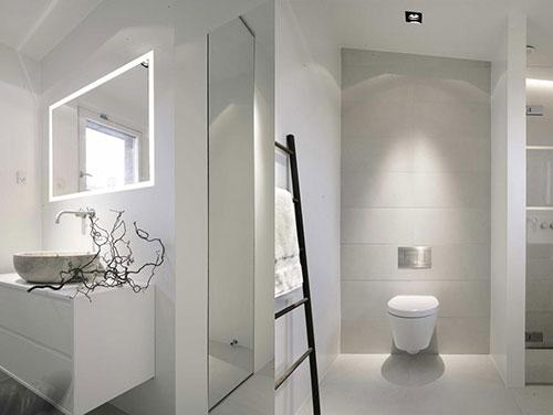 Witte badkamers voorbeelden - Badkamers voorbeelden