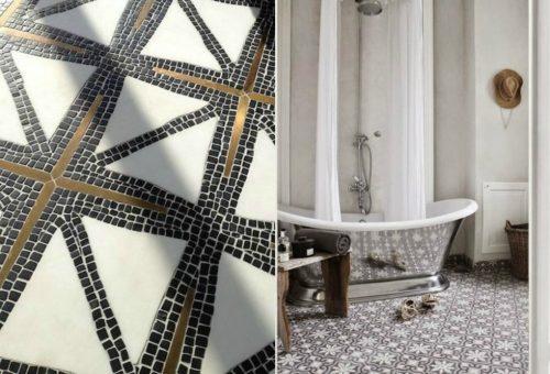 Zwarte Tegels Badkamer : Witte tegels badkamer vloeren tegel bianco ...