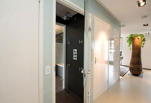 Zwarte Slaapkamer : Badkamers voorbeelden » Zwarte badkamer naast ...