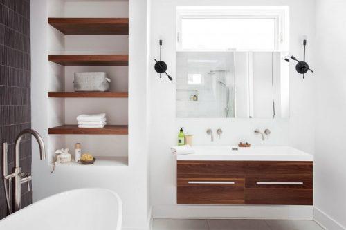 Grote luxe badkamer door caitlin stothers design badkamers voorbeelden - Badkamermeubels kleine ruimte ...