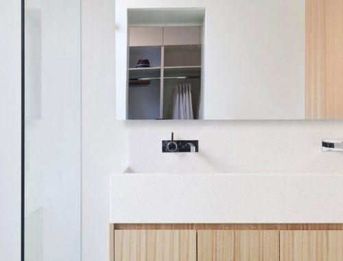 Zwevende badkamermeubel
